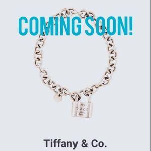 Tiffany lock charm bracelet
